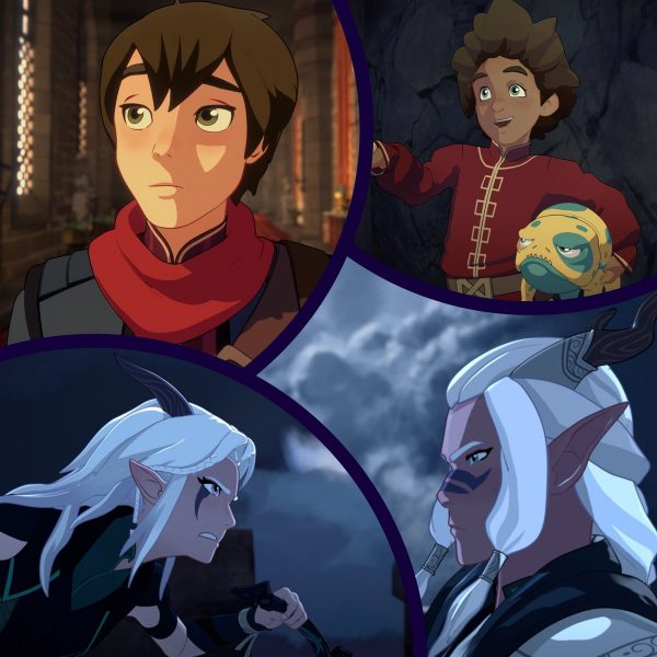 The dragon Prince 2018 Aaravos X Reader cuddles
