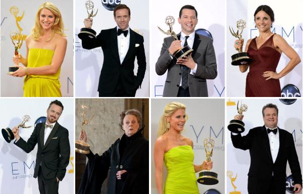 2012 Emmy Sahipleri