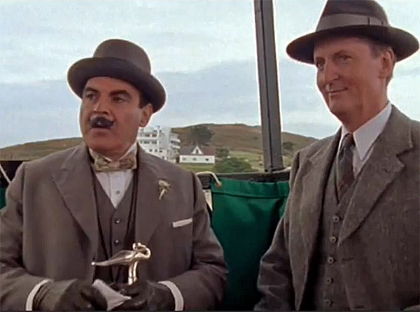 Arthur Hastings ve Hercule Poirot