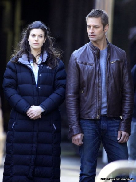 Intelligence - Set Photos - 18th March - Josh Holloway and Meghan Ory (6)_595