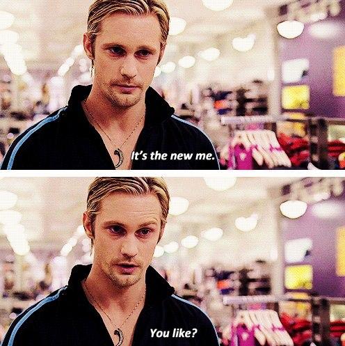 Eric: Bu yeni ben. Beğendin mi?
