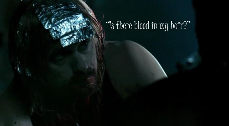 Eric: Saçımda kan var mı?