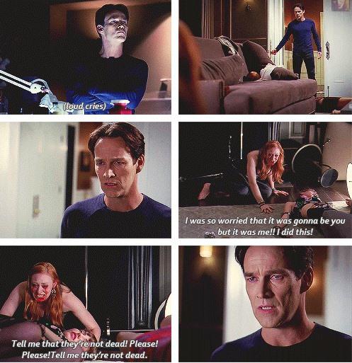 Jessica: Senin yapacağından o kadar çok korkmuştum ama ben yaptım. Ben yaptım! Ölmediklerini söyle. Lütfen ölmediklerini söyle.