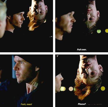 Eric : Kenara çek. Jason : Siktir. Eric: Lütfen?