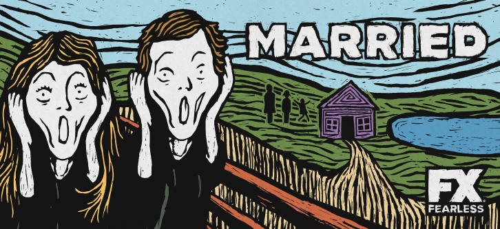MARRIED -- Key Art. CR: FX