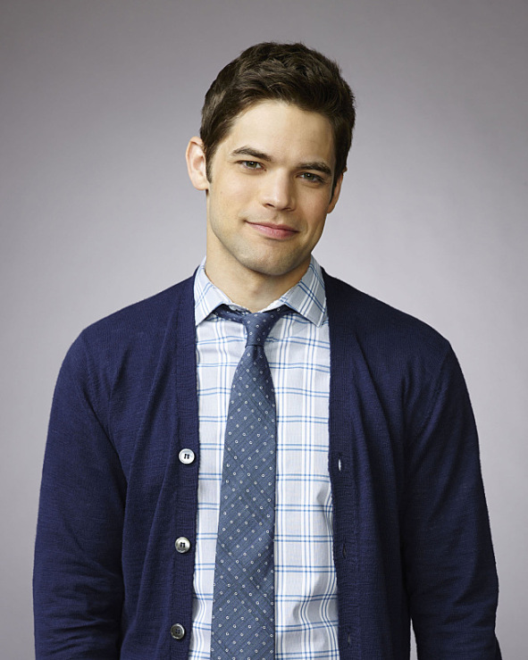 "Jeremy Jordan stars as Winslow ""Winn"" Schott in the new action-adventure drama SUPERGIRL, on the CBS Television Network. Photo: Matthias Clamer/Warner Bros. Entertainment Inc. © 2015 WBEI. All rights reserved."