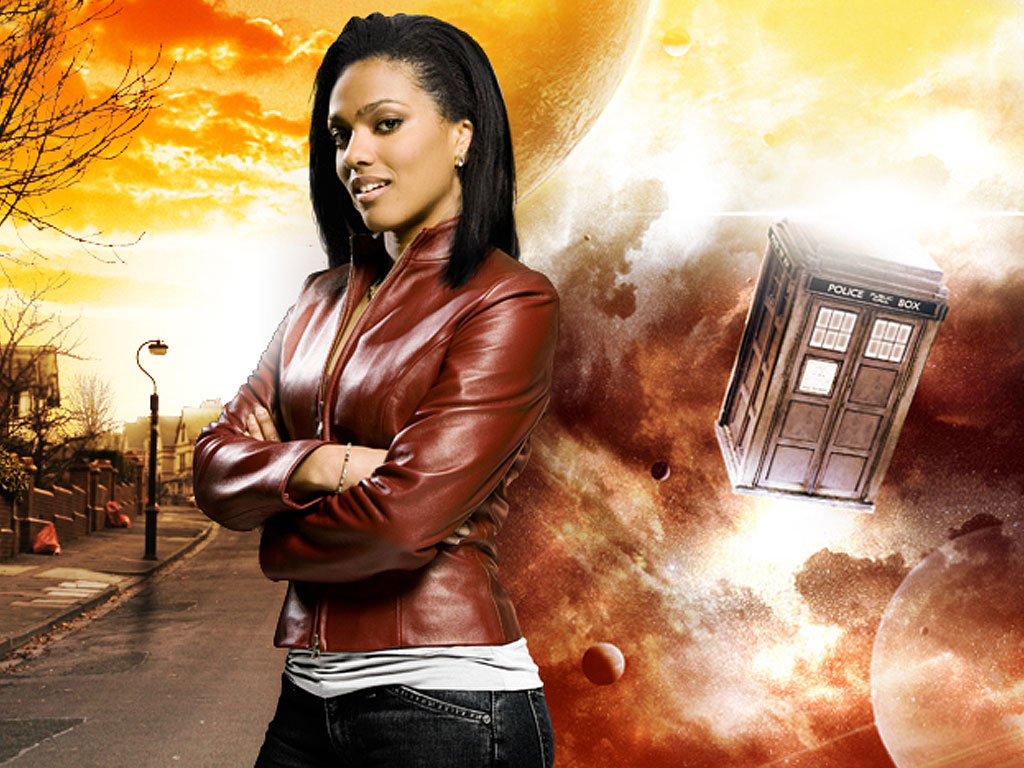 tardis-doctor-doctor-who-freema-agyeman-martha-jones-HD-Wallpapers