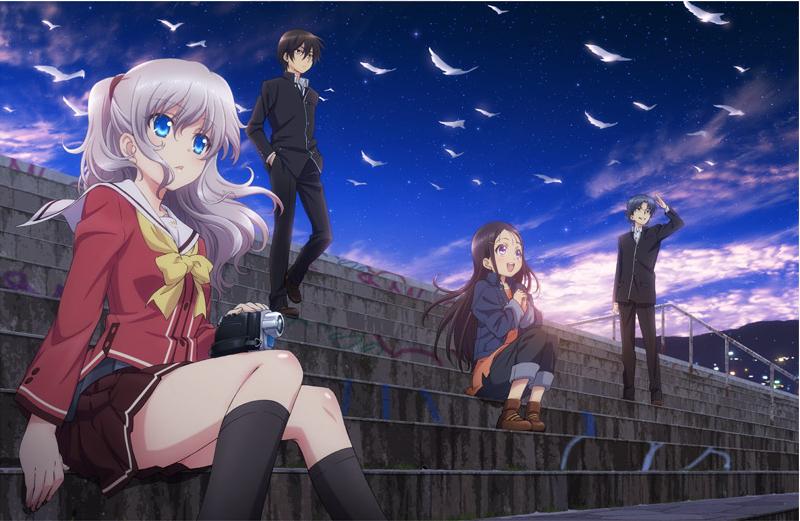 Charlotte BD 1 Poster - Dram Anime Önerileri 2 !! - Figurex Anime Önerileri