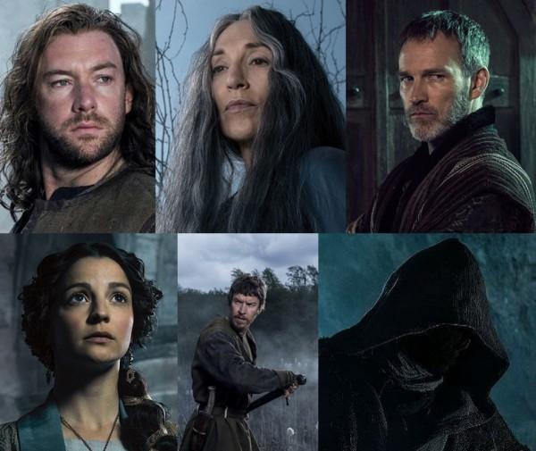Yukarıdakiler (Soldan - Sağa): Wilkin Brattle, Annora, Milus Corbett Alttakiler: Barones Love, Toran Prichard, The Dark Mute
