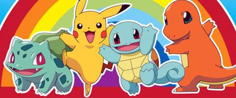 Bulbasaur - Pikachu - Squirtle - Charmander