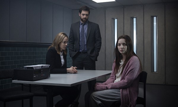 Programme Name: Thirteen - TX: n/a - Episode: n/a (No. n/a) - Picture Shows: Merchant (VALENE KANE), Carne (RICHARD RANKIN), Ivy Moxam (JODIE COMER) - (C) BBC - Photographer: Todd Anthony