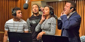 Taraji-Henson-and-Terrence-Howard-Recording-Session-in-Empire