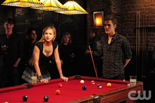"""""""162 Candles"""" - Arielle Kebbel as Lexi, Paul Wesley as Stefan in THE VAMPIRE DIARIES on The CW. Photo: Guy D'Alema/The CW ©2009 The CW Network, LLC. All Rights Reserved."""