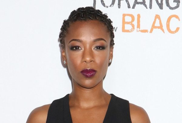 Mandatory Credit: Photo by Gregory Pace/BEI/Shutterstock (5733893bn) Samira Wiley 'Orange is the New Black' TV series premiere, New York, USA - 16 Jun 2016 WEARING MILLY