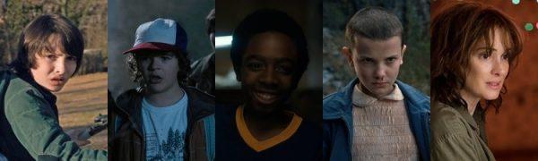 Mike - Dustin - Lucas - Eleven - Joyce