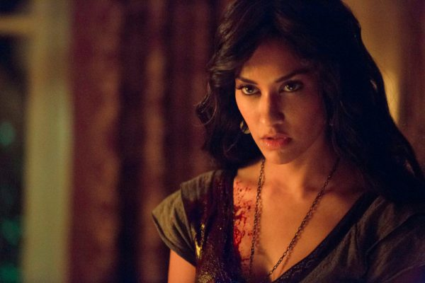 """The Vampire Diaries -- """"Death and the Maiden"""" -- Image Number: VD507a_0168.jpg -- Pictured: Janina Gavankar as Tessa -- Photo: Blake Tyers/The CW -- © 2013 The CW Network, LLC. All rights reserved."""