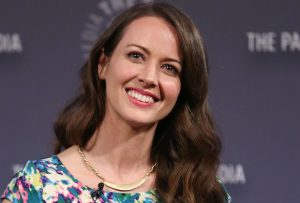 Mandatory Credit: Photo by Kristina Bumphrey/StarPix/REX/Shutterstock (5633574b) Amy Acker Paley Center presents an evening with the cast of 'Person of Interest', New York, America - 13 Apr 2015