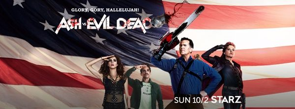 2 Ekim - Ash vs Evil Dead (2. sezon) STARZ (tanıtım filmi)