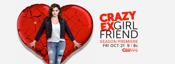 21 Ekim - Crazy Ex-Girlfriend (2. sezon) The CW