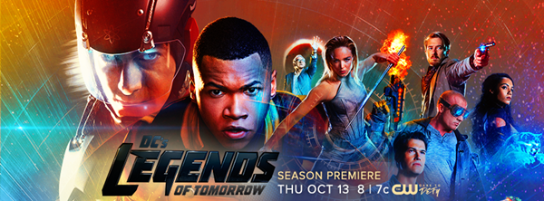 13 Ekim - DC's Legends of Tomorrow (2. sezon) The CW (tanıtım filmi)