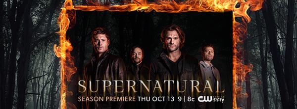 13 Ekim - Supernatural (12. sezon) The CW (tanıtım filmi)