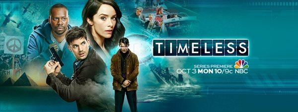 3 Ekim - Timeless (1. sezon) NBC (tanıtım filmi)