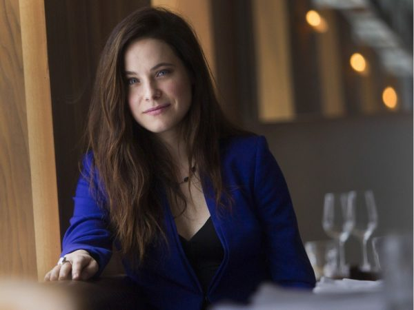MONTREAL, QUE.: FEBRUARY 24, 2016 -- Actress Caroline Dhavernas in Montreal Wednesday, February 24, 2016. She is in the new Québec period film Chasse-galerie: La légende. (John Kenney / MONTREAL GAZETTE)