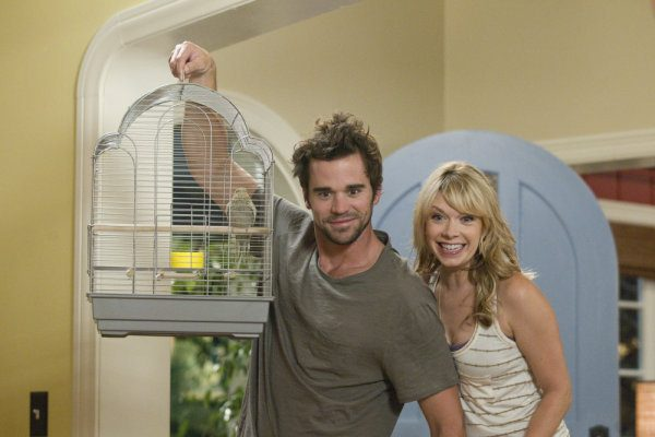 "PERFECT COUPLES -- ""Perfect Proposal"" Episode 102 -- Pictured: (l-r) David Walton as Vance, Mary Elizabeth Ellis as Amy -- Photo by: Paul Drinkwater/NBC"